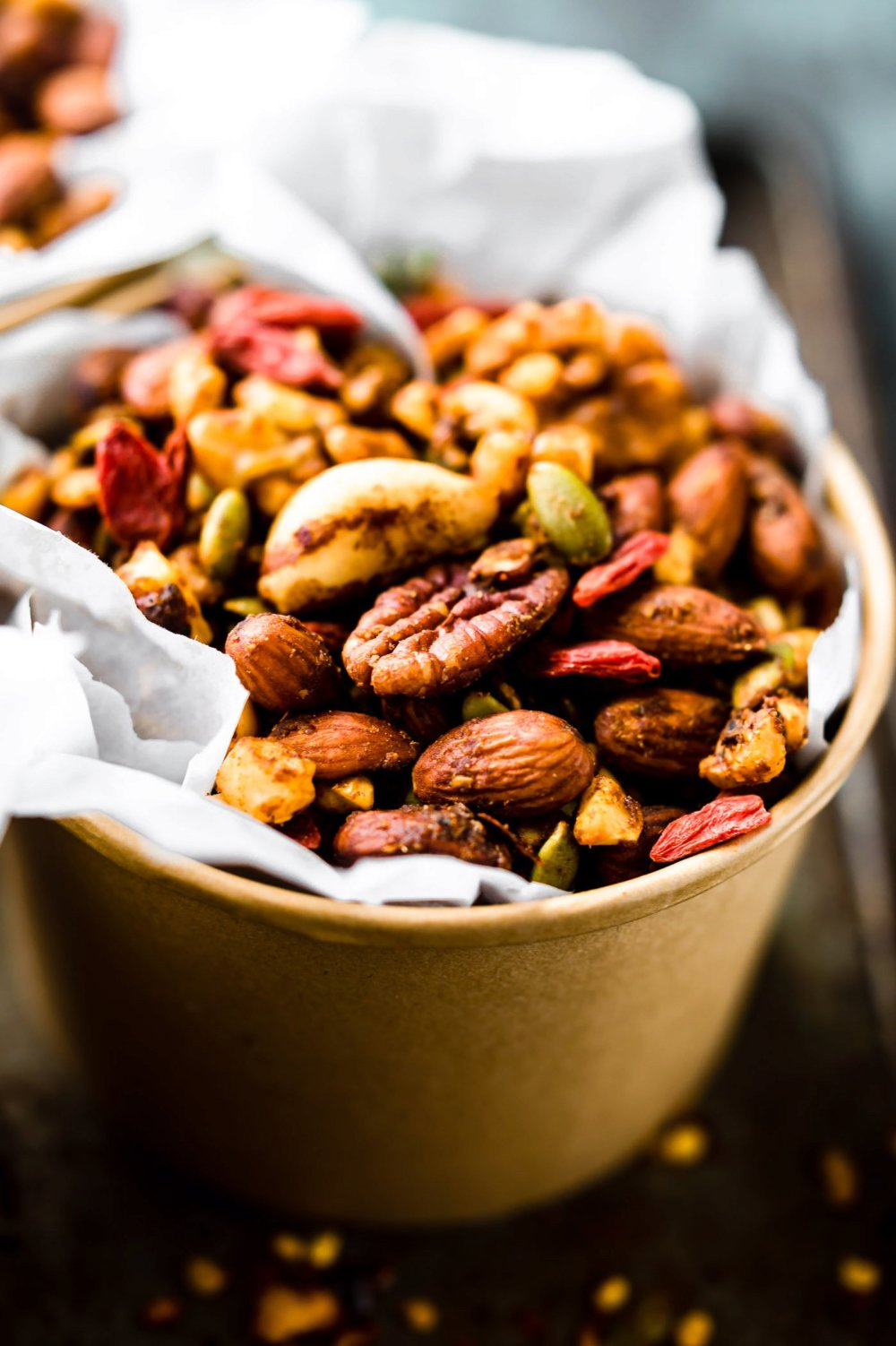 Thai Curry Spiced Slow Cooker Snack Mix