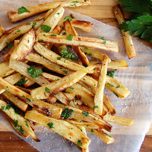 Addictive Parsnip Fries with Truffle Oil