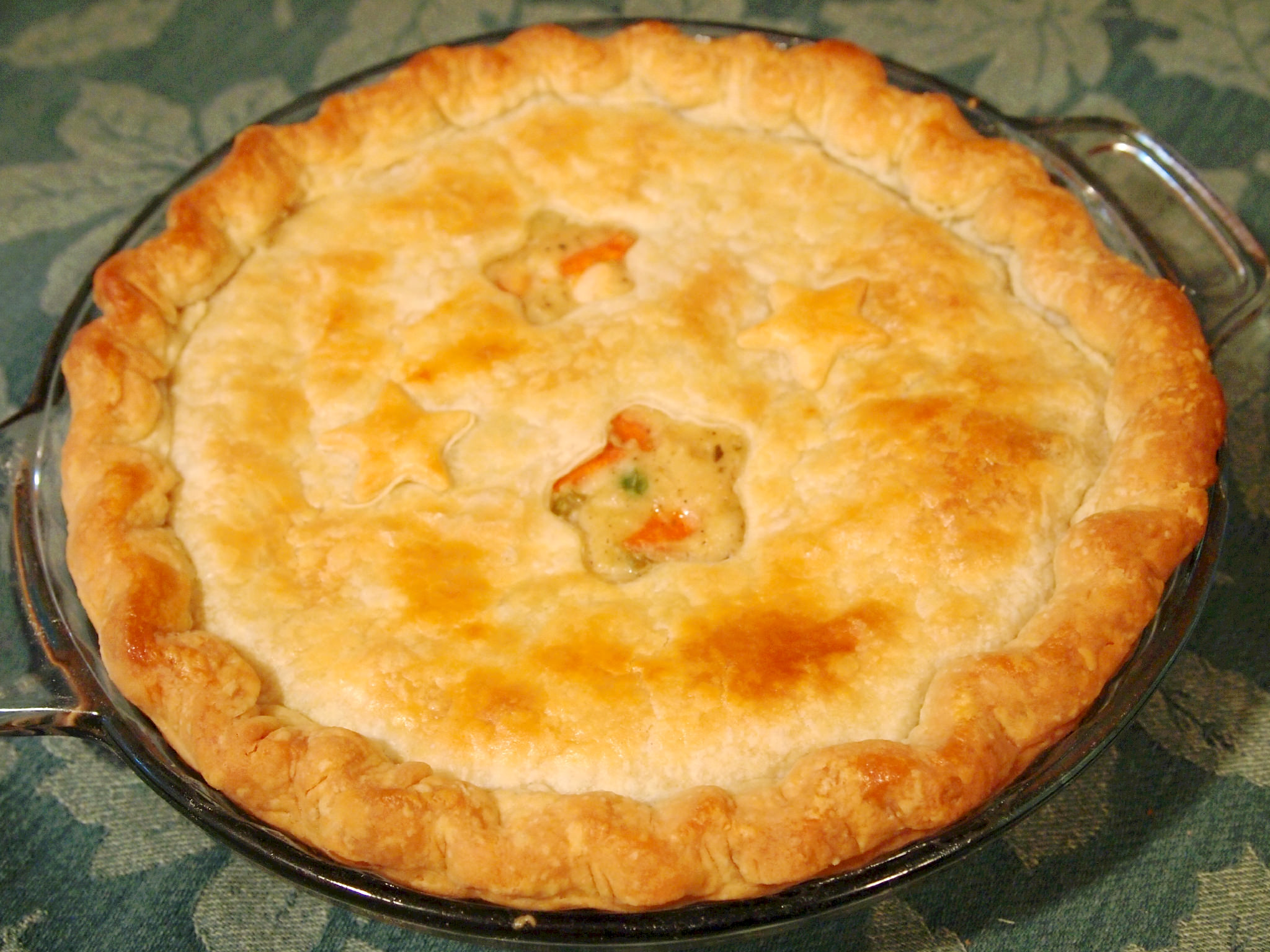 Oh, Yeah. Chicken Pot Pie.